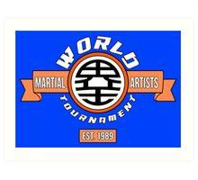 The World Tournament Original Art Print