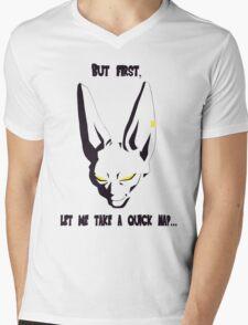 DBZ - Bills [w/ Caption] Mens V-Neck T-Shirt