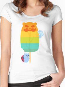 Bravest Warriors - Bear Lolli Women's Fitted Scoop T-Shirt