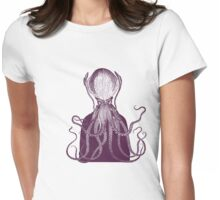 Squidman Womens Fitted T-Shirt