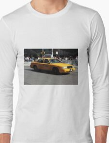 New York Yellow Taxi Cab Long Sleeve T-Shirt