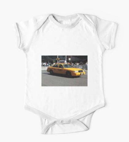 New York Yellow Taxi Cab One Piece - Short Sleeve