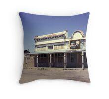 Old Saloon, Lamy, New Mexico, USA. Throw Pillow