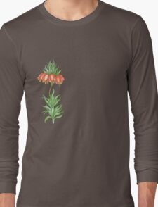 crown imperial flower Long Sleeve T-Shirt