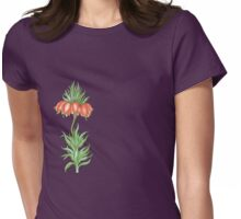 crown imperial flower Womens Fitted T-Shirt