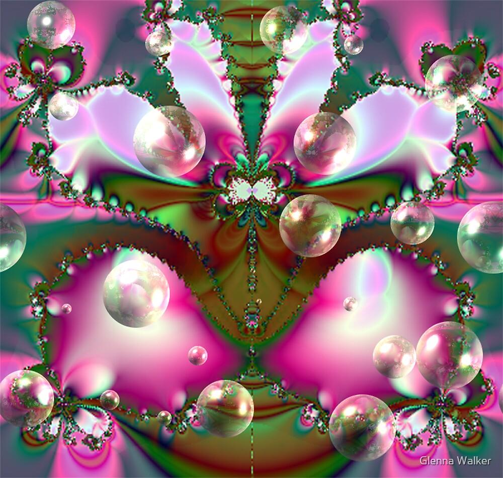 Bubble Fractal by Glenna Walker