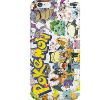 pokemon character iPhone Case/Skin