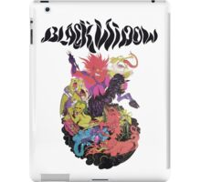 Black Widow Band Shirt iPad Case/Skin