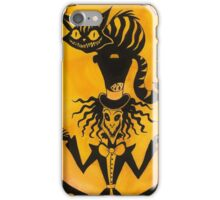 Wonderland Mad hatter and Cheshire cat iPhone Case/Skin