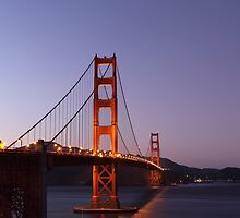 Golden Gate Bridge in San Francisco by northernsecret