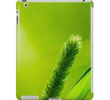 Green Grass And Sun - Have a nice day iPad Case/Skin