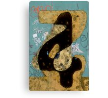 Numerology Canvas Print
