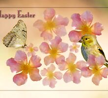 Happy Easter by Bonnie T.  Barry