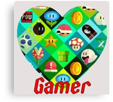 gamer world Canvas Print