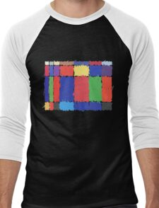 Childhood Colours Men's Baseball ¾ T-Shirt