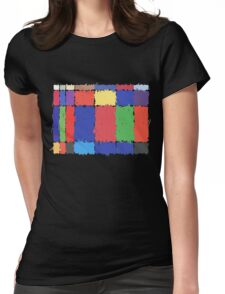 Childhood Colours Womens Fitted T-Shirt