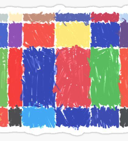 Childhood Colours Sticker