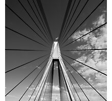 Anzac Bridge Symmetry Photographic Print
