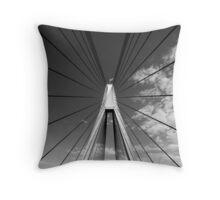 Anzac Bridge Symmetry Throw Pillow