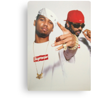 Supreme x Dipset Canvas Print
