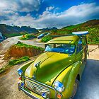 Morris Minor Traveller by Chris Thaxter