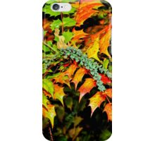 Autumn is a Painter #2, Haywards Heath, England iPhone Case/Skin