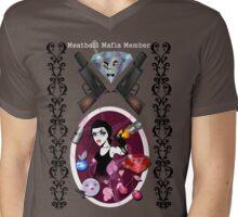 Meatball Mafia Member Shirt Mens V-Neck T-Shirt
