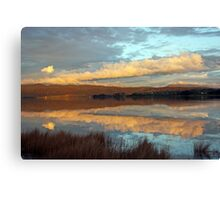 Tamar River Reflections - Tasmania Canvas Print