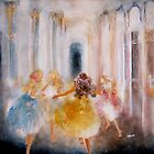 muses in hermitage by Tokiko Anderson by TokikoAnderson