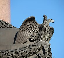 Double-headed eagle spread its wings by mrivserg