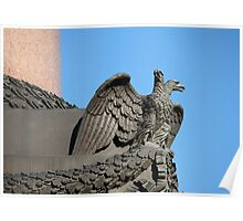 Double-headed eagle spread its wings Poster