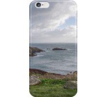 Sea View, Pembrokeshire iPhone Case/Skin