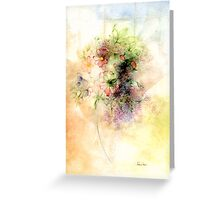 Spring by Tokiko Anderson Greeting Card