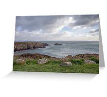 Sea View, Pembrokeshire Greeting Card