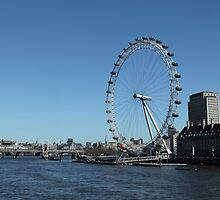 The London Eye by northernsecret