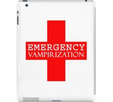 Emergency Vampirization iPad Case/Skin
