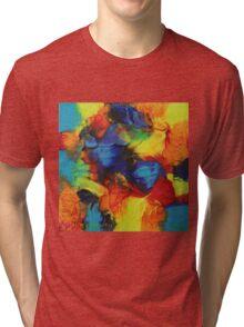 """""""Audacity"""" original abstract artwork Tri-blend T-Shirt"""