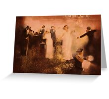 Cotton Club  by Tokiko Anderson Greeting Card