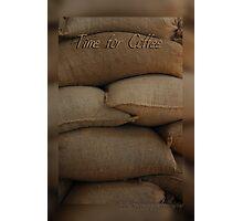 Coffee Time Card © Vicki Ferrari Photography Photographic Print