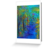 Monet Woods and Water Greeting Card