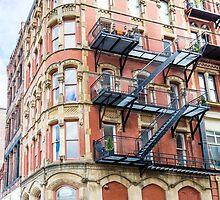 Old Brick Building by dbvirago