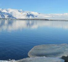 Glacial lake  Sticker