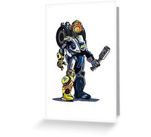 VR46 Robot Greeting Card