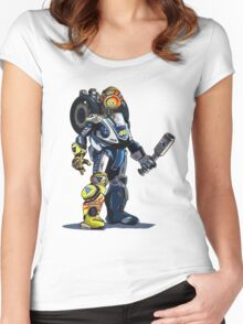 VR46 Robot Women's Fitted Scoop T-Shirt
