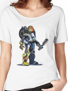 VR46 Robot Women's Relaxed Fit T-Shirt