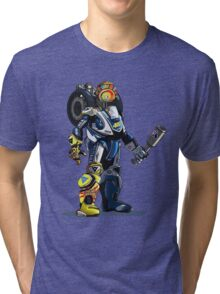 VR46 Robot Tri-blend T-Shirt