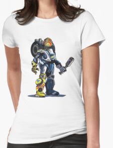 VR46 Robot Womens Fitted T-Shirt