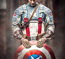 Michael Mulligan as Captain America (7.1 - Photography by Sean William / Dragon Ink Photography) by mostdecentthing