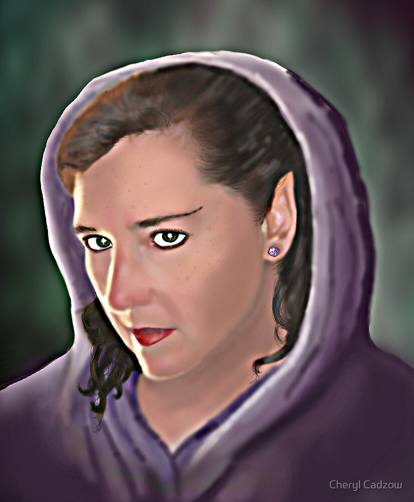 Purple Hood by Chezz