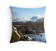 Ben Nevis. Throw Pillow